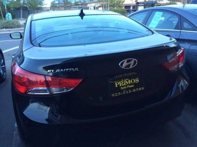 2013 Hyundai Elantra for sale at Los Primos Auto Plaza in Brentwood CA