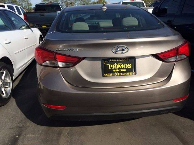 2014 Hyundai Elantra for sale at Los Primos Auto Plaza in Brentwood CA