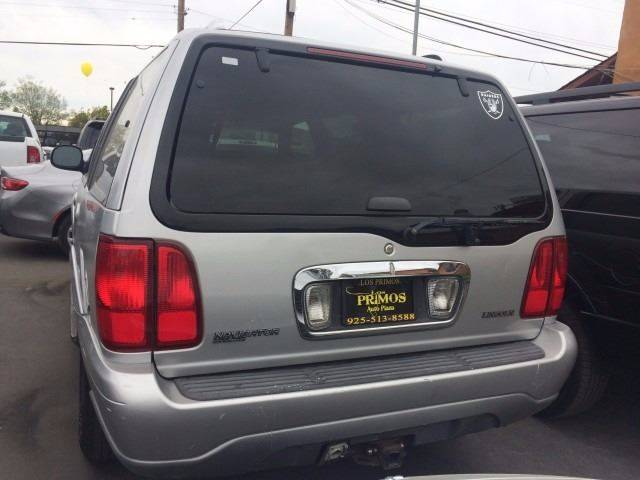 1999 Lincoln Navigator for sale at Los Primos Auto Plaza in Brentwood CA
