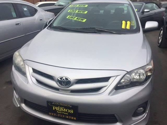 2011 Toyota Corolla for sale at Los Primos Auto Plaza in Brentwood CA