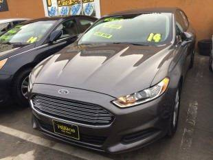 2014 Ford Fusion for sale at Los Primos Auto Plaza in Brentwood CA