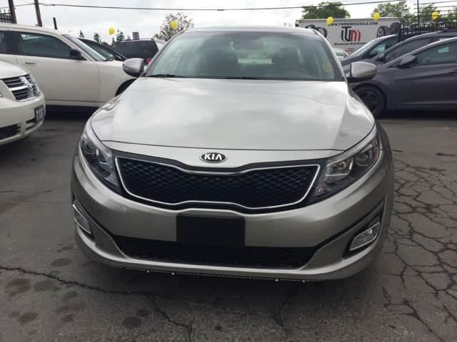 2014 Kia Optima for sale at Los Primos Auto Plaza in Brentwood CA