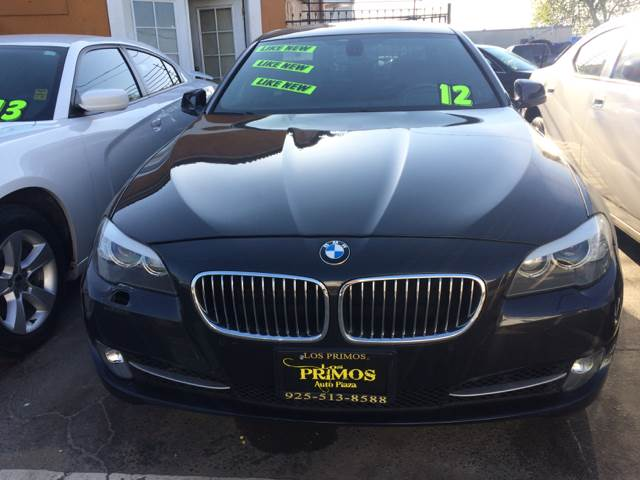 2012 BMW 5 Series for sale at Los Primos Auto Plaza in Brentwood CA