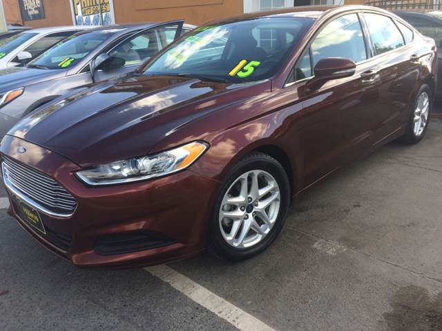 2015 Ford Fusion for sale at Los Primos Auto Plaza in Brentwood CA