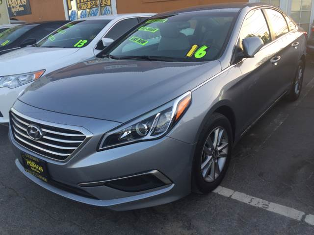 2016 Hyundai Sonata for sale at Los Primos Auto Plaza in Brentwood CA