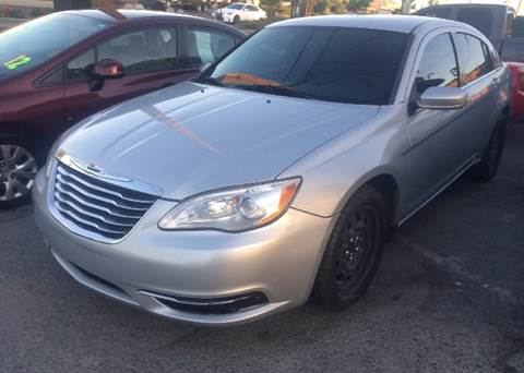 2012 Chrysler 200 for sale at Los Primos Auto Plaza in Brentwood CA