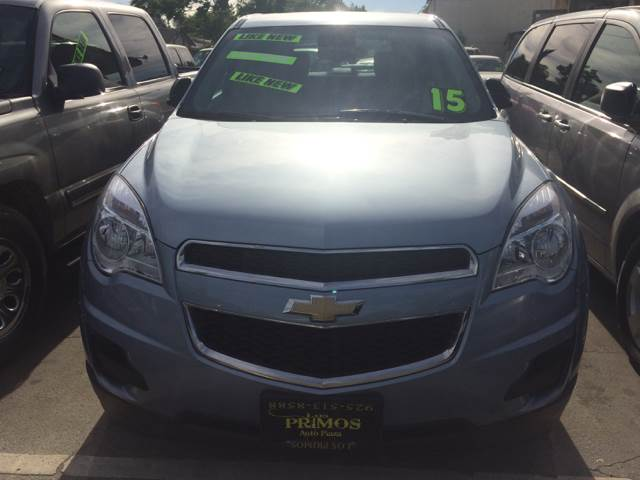 2015 Chevrolet Equinox for sale at Los Primos Auto Plaza in Brentwood CA