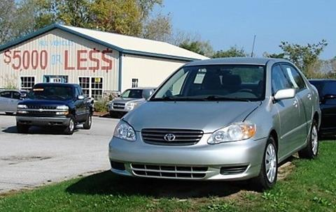 2003 Toyota Corolla for sale in Michigan City, IN