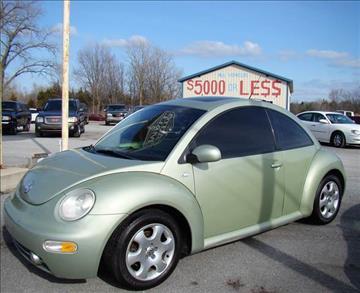2002 Volkswagen New Beetle for sale in Michigan City, IN