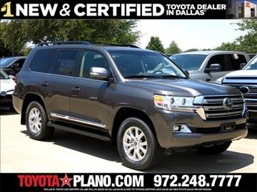 2017 Toyota Land Cruiser for sale in Dallas, TX