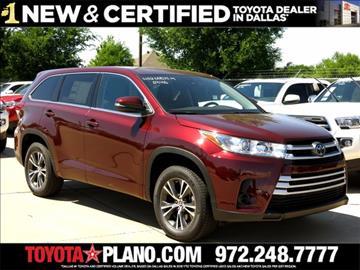 2017 Toyota Highlander for sale in Dallas, TX