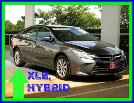 2017 Toyota Camry Hybrid for sale in Dallas, TX