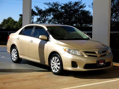 2012 Toyota Corolla for sale in Dallas, TX