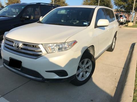 2013 Toyota Highlander for sale in Dallas, TX
