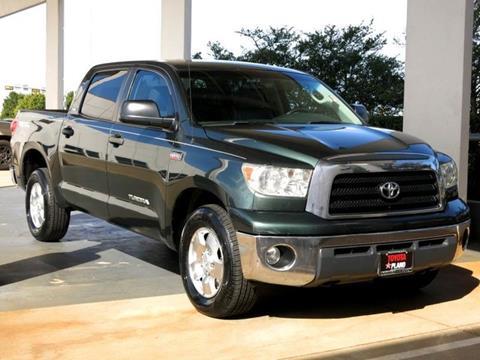 2007 Toyota Tundra for sale in Dallas, TX