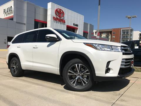 2019 Toyota Highlander For Sale In Dallas, TX
