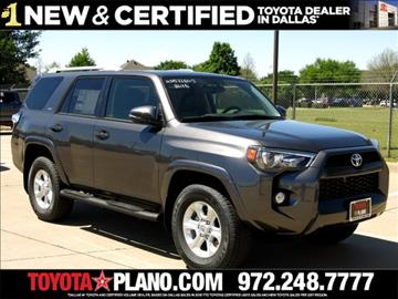2017 Toyota 4Runner for sale in Plano, TX