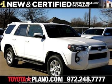 2017 Toyota 4Runner for sale in Dallas, TX