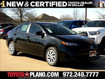 2017 Toyota Corolla for sale in Dallas, TX