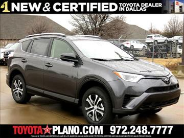 2017 Toyota RAV4 for sale in Dallas, TX