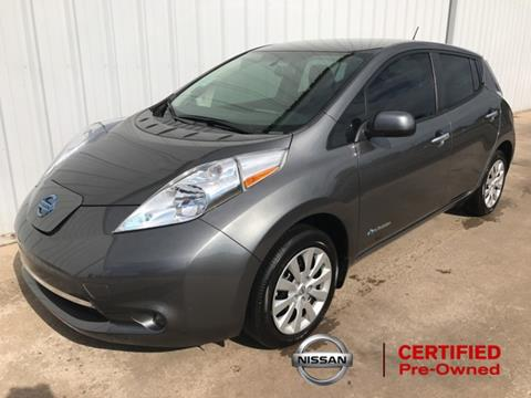 2016 Nissan LEAF for sale in Del City, OK