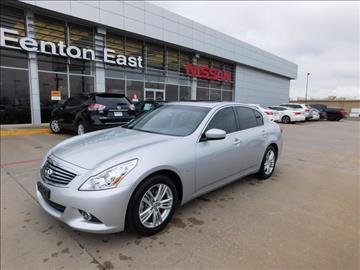 2015 Infiniti Q40 for sale in Del City, OK