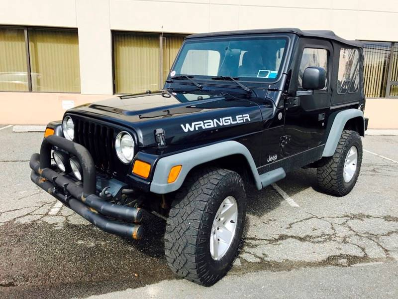2004 Jeep Wrangler for sale at KNS Auto LLC in Hasbrouck Heights NJ