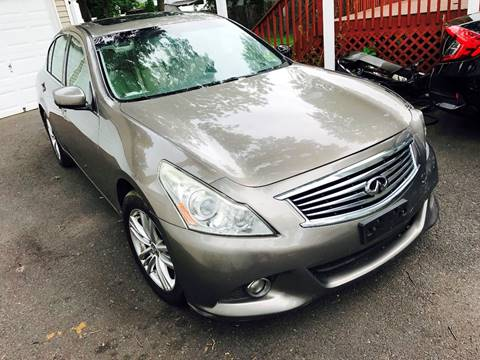 2011 Infiniti G37 Sedan for sale at KNS Auto LLC in Hasbrouck Heights NJ