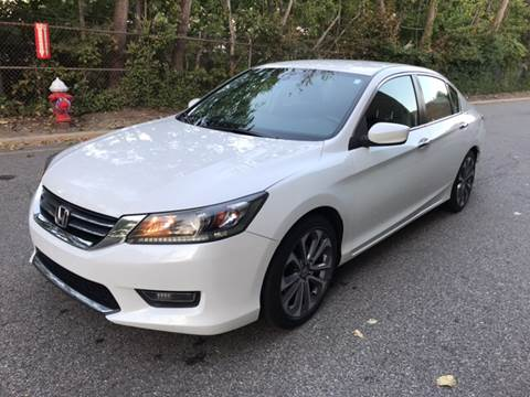2014 Honda Accord for sale at KNS Auto LLC in Hasbrouck Heights NJ