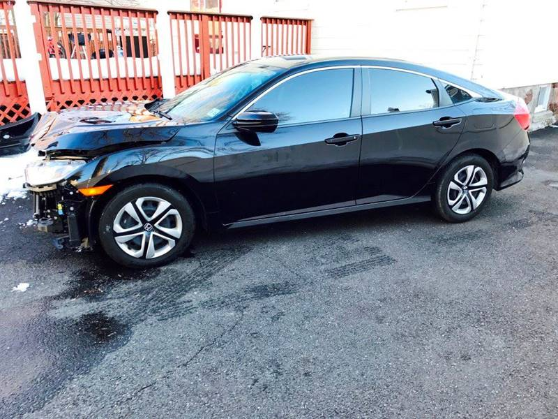 2016 Honda Civic for sale at KNS Auto LLC in Hasbrouck Heights NJ