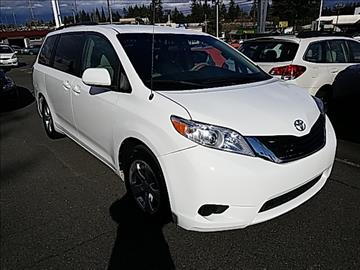 2011 Toyota Sienna for sale in Everett, WA