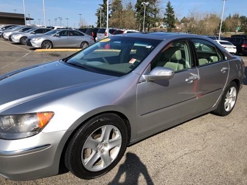 2008 Acura RL for sale in Everett, WA