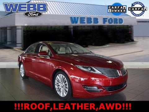2015 Lincoln MKZ for sale in Highland, IN