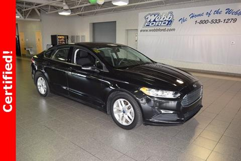2015 Ford Fusion for sale in Highland, IN