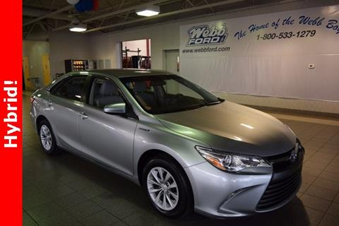 2015 Toyota Camry Hybrid for sale in Highland, IN