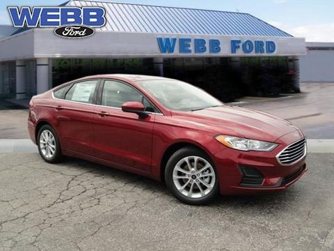 2019 Ford Fusion for sale in Highland, IN