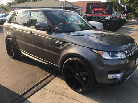 2014 Land Rover Range Rover Sport for sale in Kerman, CA