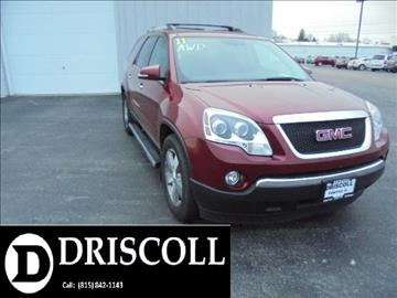 2011 GMC Acadia for sale in Pontiac, IL