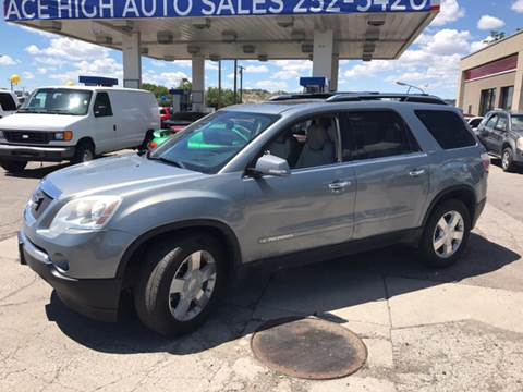 Gmc Acadia For Sale In Montana