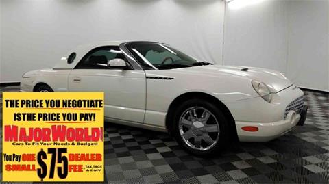 2002 Ford Thunderbird for sale in Long Island City, NY