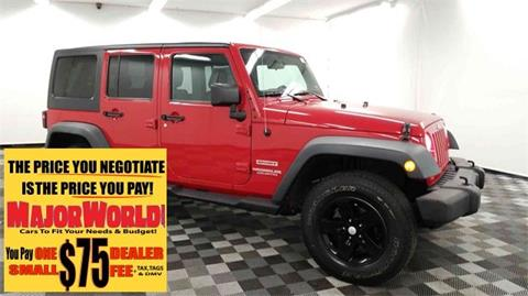 2012 Jeep Wrangler Unlimited for sale in Long Island City, NY