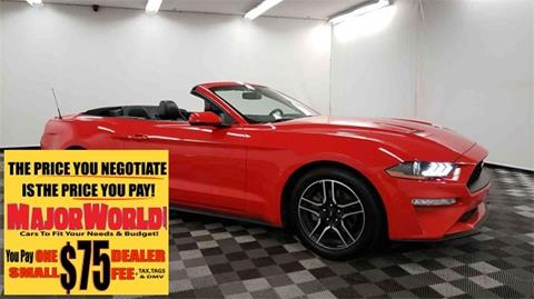 2018 Ford Mustang for sale in Long Island City, NY