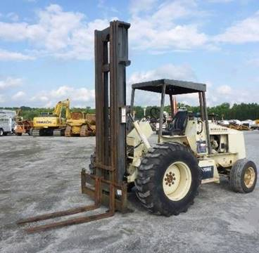 1993 Ingersoll Rand Forklift RT 706 G for sale in Norfolk VA