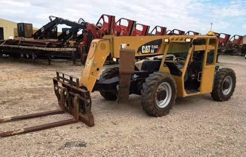 2011 Caterpillar Telehandler TL 943A for sale in Norfolk VA