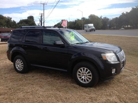 2011 Mercury Mariner for sale in Early TX