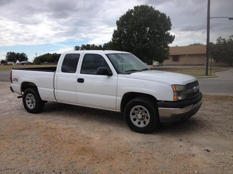 2005 Chevrolet Silverado 1500 for sale in Brownwood, TX