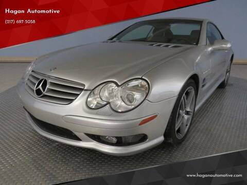 2003 Mercedes-Benz SL-Class for sale at Hagan Automotive in Chatham IL
