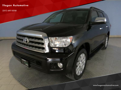 2016 Toyota Sequoia for sale at Hagan Automotive in Chatham IL