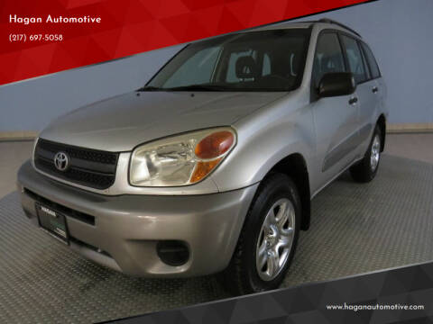 2005 Toyota RAV4 for sale at Hagan Automotive in Chatham IL