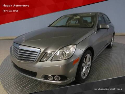 2010 Mercedes-Benz E-Class for sale at Hagan Automotive in Chatham IL